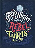 """""""Good Night Stories for Rebel Girls"""" is a children's book packed with 100 BEDTIME STORIES about the life of 100 EXTRAORDINARY WOMEN from the past and the present, illustrated by 60 FEMALE ARTISTS from all over the world. Each woman's story is written..."""
