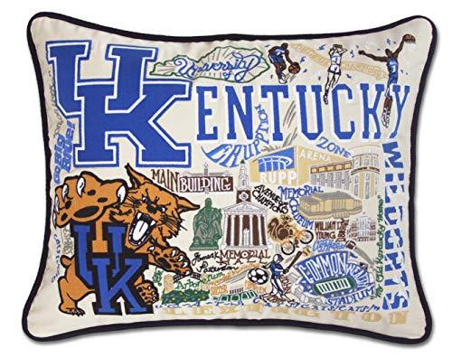 catstudio- University of Kentucky Embroidered Throw Pillow - 16