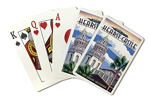 Hearst Castle - Tower - San Simeon, CA (Playing Card Deck - 52 Card Poker Size with Jokers)