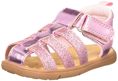 - Carter's Every Step Perry Baby Girl's Fisherman Sandal, Pink, 5.5 M US Toddler