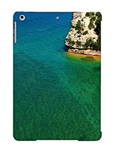 Appearance Snap-on Case Designed For Ipad Air- Miners Castle(best Gifts For Lovers)