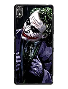 2015 Sony Xperia Z3 Case Cover, Incredible Joker Graph [Non-Slip] Hard Plastic Case Cover for Sony Xperia Z3 7529102M353358167