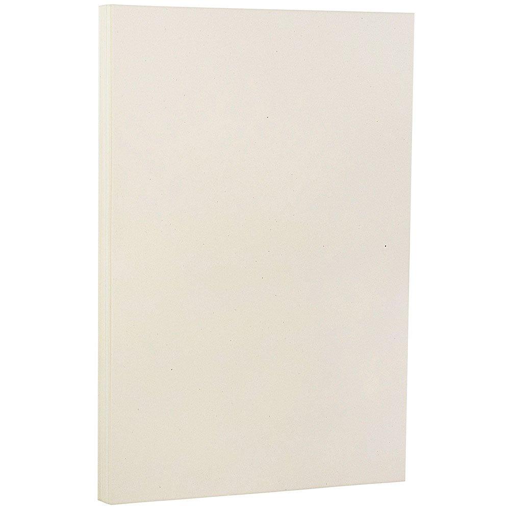 JAM Paper Recycled Legal Paper - 8.5'' x 14'' - 24 lb Genesis Milkweed - 100 Sheets/pack