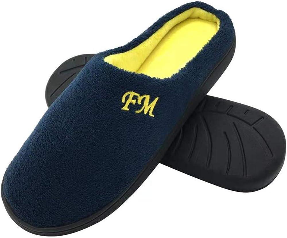 Comfort Two-Tone Memory Foam Slipper