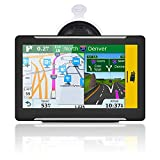 Car truck GPS Navigator 7 inch Portable GPS PND Navigation System Device Vehicle GPS with US Canada Mexico map Free upgrading HD touch screen FM 256MB memory 8GB Flash