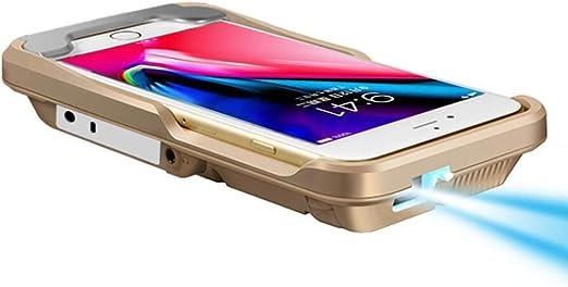 CZWNB Teléfono móvil proyector Home Miniatura portátil Mini HD ...