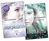 Julie Kagawa 2 Books Collection Pack Set (The Iron King (The Iron Fey - Book 1), The Iron Daughter (The Iron Fey - Book 2))