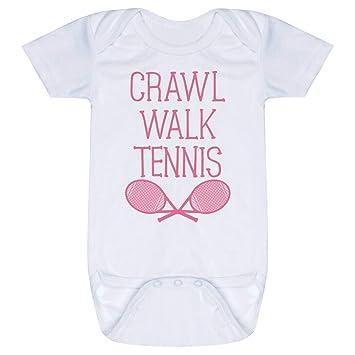 Amazon com: Tennis Baby & Infant Onesie | Crawl Walk Tennis