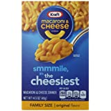 Kraft Macaroni & Cheese Dinner, Orginal, 14.5 Ounce (Pack of 8)