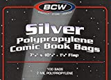 700 Silver Age Comic Bags and Backing Boards
