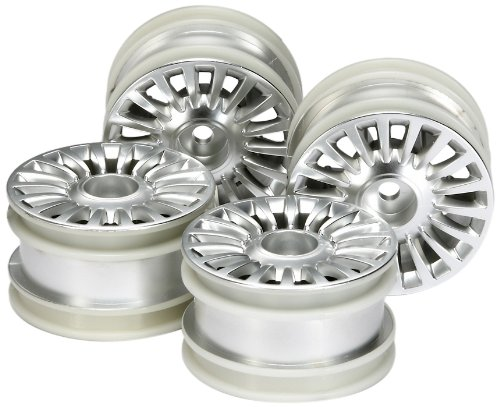 Tamiya #51362 M-Chassis 18-Spoke Wheels - 4pcs for Tamiya M-03 ()