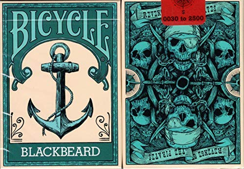 (BOCOPO Blackbeard Bicycle Playing Cards Poker Size Deck USPCC Custom Limited Edition)