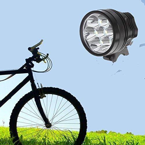 Linterna L/áMPARA para 7x Cree XM-L T6 9800 l/úmenes LED de bicicleta //bici l/ámpara Luz LED frontal para manillar de bicicleta bicicletas 3 modos con 8800mAH bater/ía y cargador