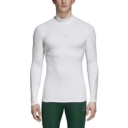 12265ec0130 Amazon.com  adidas Soccer Alphaskin Sport Long Sleeve Climawarm Tee ...