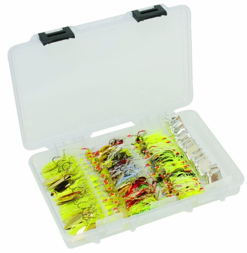 (Plano FTO Spinnerbait/Buzzbait Tackle Box 3700 Size, Premium Tackle Storage)