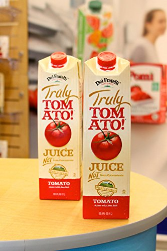 DEI FRATELLI TRULY TOMATO! JUICE 33.8 OZ (Dei Fratelli Tomato Juice compare prices)
