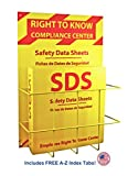 SDS Compliance Center - Bilingual Right to Know Station - 2'' Binder with Wall Mount