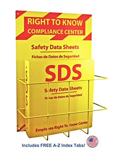 - SDS Compliance Center - Bilingual Right to Know Station - 2