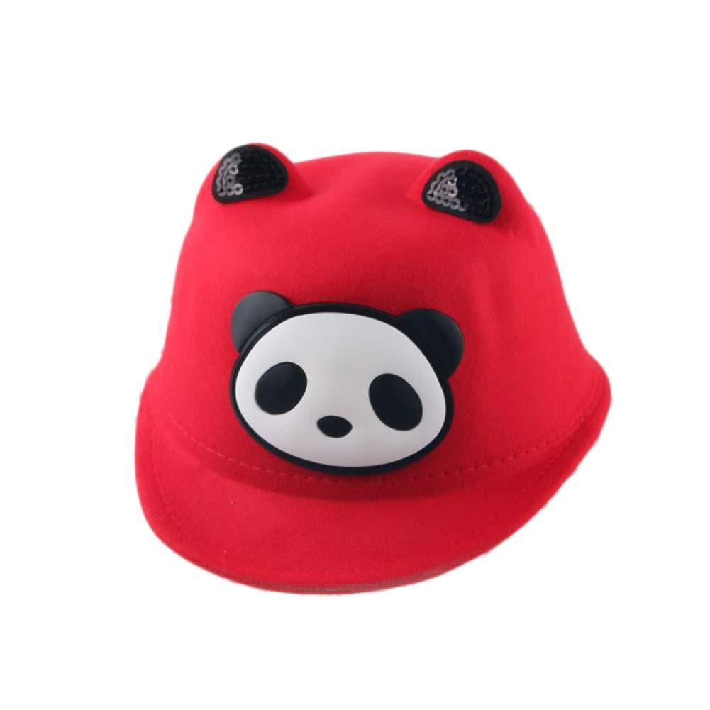 Infgreate Clearance Sale Stylish Warm Hat Kids Baby Boy Girl Lovely Cartoon Panda Ears Equestrian Cap Outdoor Sun Hat