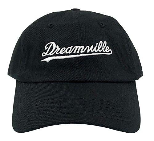 Dream Hat Born Sinner Crown Dad Hat Baseball Cap Embroidered Adjustable (Black)