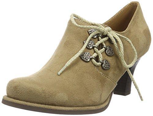 Hirschkogel by Andrea Conti Damen 3591521 Ankle Boot, Beige (Taupe 066), 40 EU