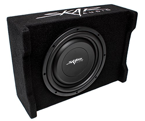 Skar Audio Ev 10Mb S4 10  Single 4 Ohm 400W Shallow Mount Loaded Subwoofer Enclosure
