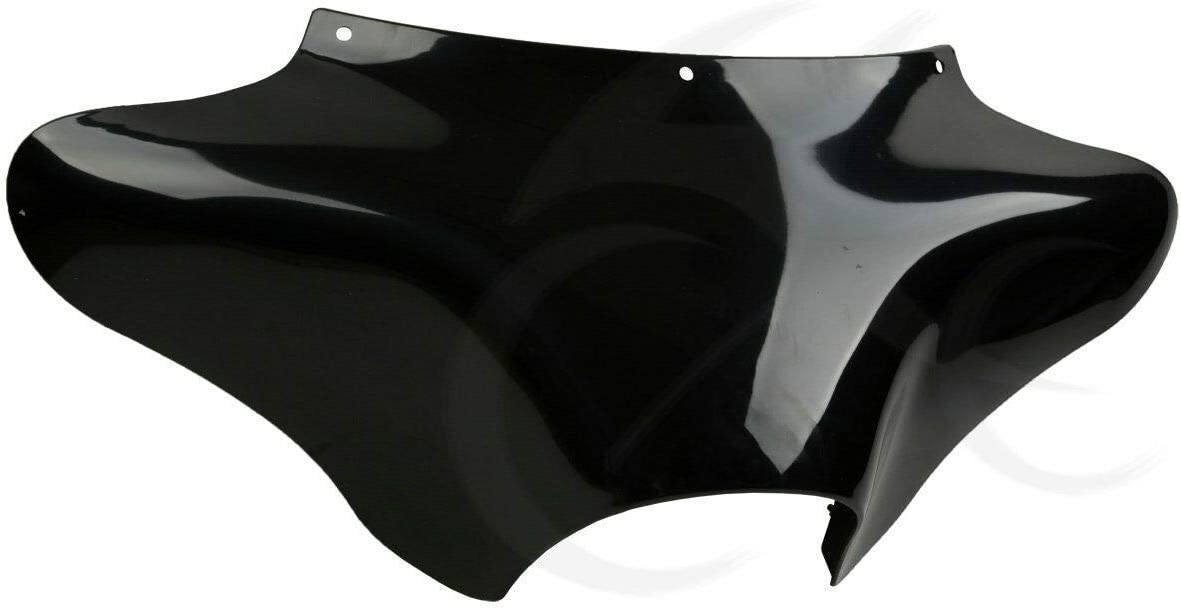 SLMOTO Vivid Black Front Outer Batwing Fairing Fit for Harley Davidson Touring Electra Glide Street Glide Ultra Classic Trike Models 1996-2013//01 Honda 750 Shadow Ace