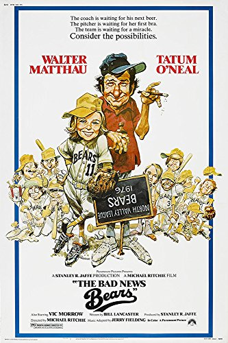 "The Bad News Bears - Movie Poster 24x36"" (60.96 x 91.44 cm)"