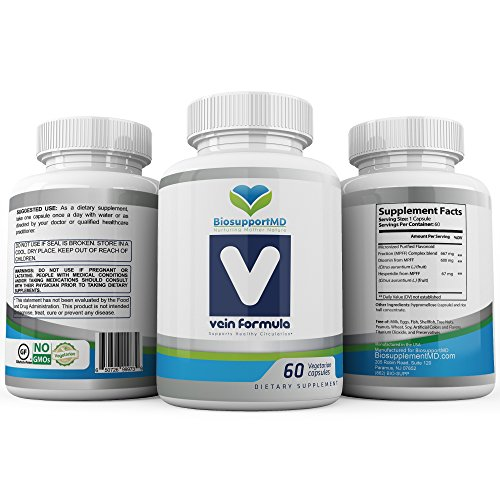 BiosupportMD Vein Formula supplements created by a Vein Specialist