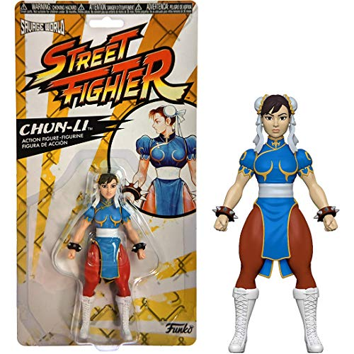Funko Chun-Li Savage World Mini Action Figure + 1 Video Games Themed Trading Card Bundle [37831]