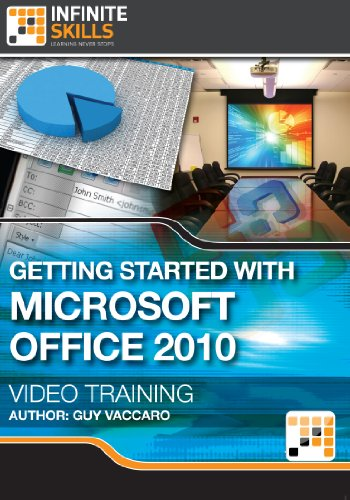 Getting Started with Microsoft Office 2010 - Training Course for Mac [Download] by Infiniteskills