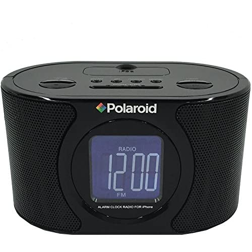 Polaroid IPB-117 Alarm Clock AM/FM Radio...