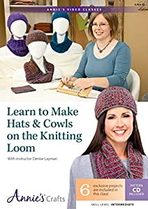 Learn to Make Hats & Cowls on the Knitting Loom: With Instructor Denise Layman