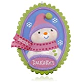 Hallmark Keepsake Ornament: Oh-Snow-Sweet Daughter Snowman
