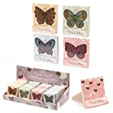 Majestic Chouko Butterfly Nail File Match Book by Puckator