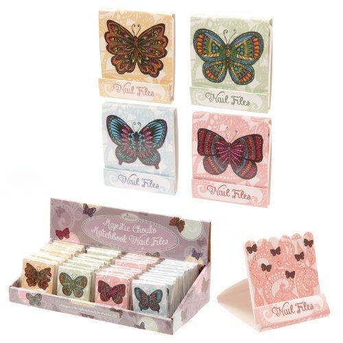 Majestic Chouko Butterfly Nail File Match Book by Puckator