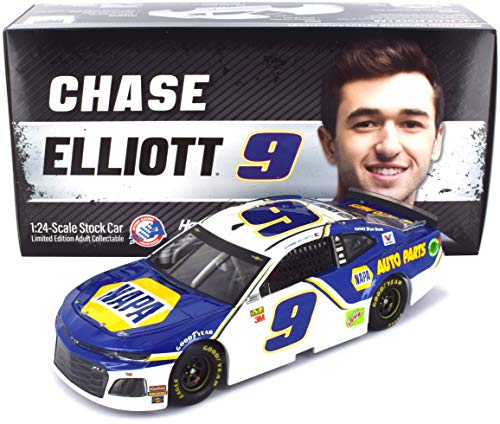 (Lionel Racing Chase Elliott #9 NAPA 2019 Chevrolet Camaro NASCAR Diecast 1:24 Scale)