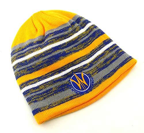 adidas Santa Cruz Warriors New D Golden State G League Beanie Blue Gold Era Hat Cap