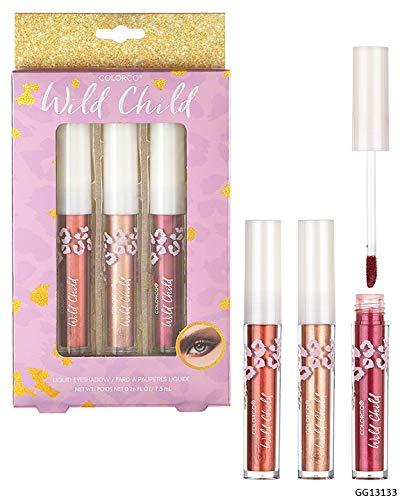 Expressions by Almar – ColorCo Cosmetics WILD CHILD Liquid Eyeshadow Trio