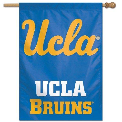 UCLA Bruins Vertical Banner Flag Blue/Gold Lettering Licensed 28x40