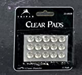 Self-Sticking Clear Pads for Surface Protection, 3/8