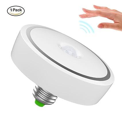 Sensor de movimiento luz LED Bombilla, inteligente de Minger 15 W PIR LED bombilla,
