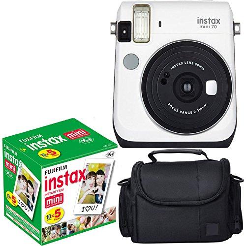 Fujifilm Instax Mini 70 - White Instant Film Camera With Fuj