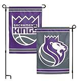 WinCraft NBA Sacramento Kings 12.5'' x 18'' Inch 2-Sided Garden