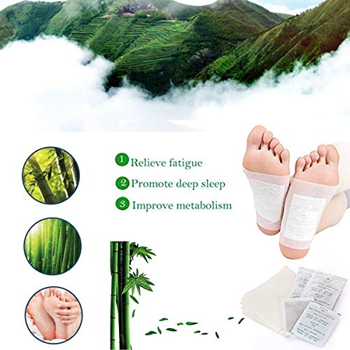 Natural for Pain Relief, Calm & Improved Sleep/Remove Impurities, Cleansing, Relieve Stress/Higher Efficiency Than Foot Cushions,Sleeve Metatarsal ()