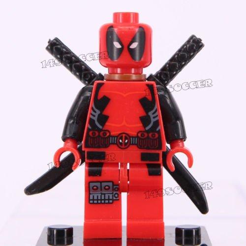 Dc Comics Avengers Marvel Super Hero Building Toy Mini Figure Fit LEGO Avengers Y13 Deadpool