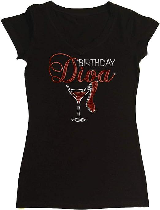 Amazon.com: Camiseta para mujer con talón de diva de ...