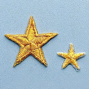 Achievement Star Patch - Yellow - 1