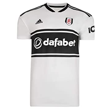 b996517bdf4 FULHAM FOOTBALL CLUB 18 19 Home Shirt Adult CF3231  Amazon.co.uk ...
