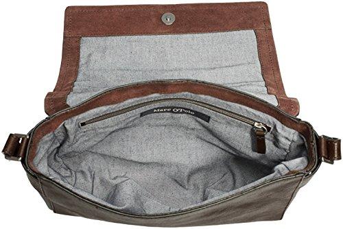 Marc O'Polo Post Bag S - Bolso bandolera Mujer Dark Brown 790